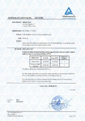 SIL Certificate for Fully Welded Ball Valves