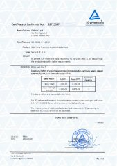 SIL Certificate for Trunnion Ball Valves
