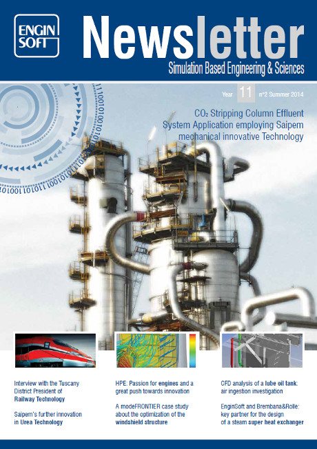 Simulation based Engineering & Science Newsletter – Dafram Success Story 1
