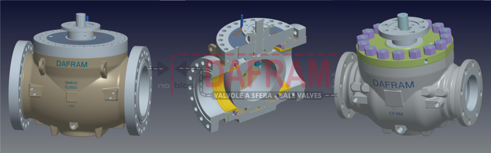 TOP ENTRY BALL VALVES 3D